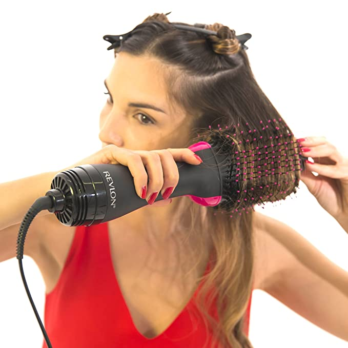 Image result for REVLON Pro Collection Salon One Step Hair Dryer and Volumiser