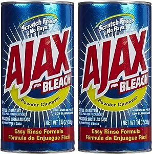 Ajax Powder Cleanser with Bleach - 14 oz - 2 pk