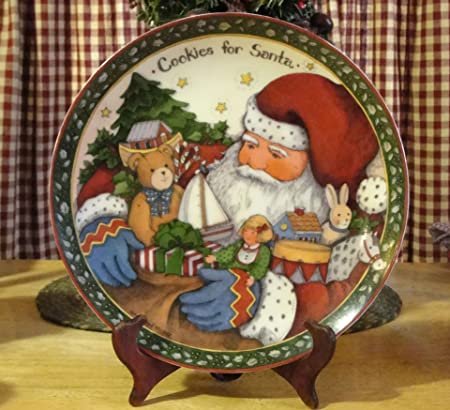A Christmas Story Susan Winget Cookies For Santa Plate Amazon Co Uk
