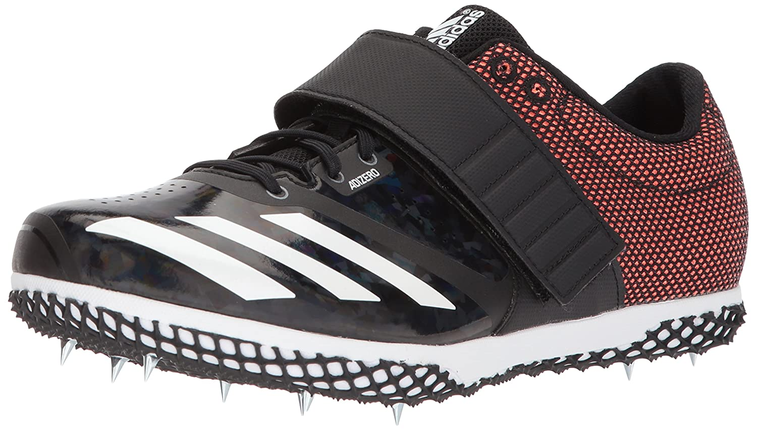 adidas Adizero Hj B071GSFCY7 5.5 M US|Core Black, Solar Orange, Ftwr White