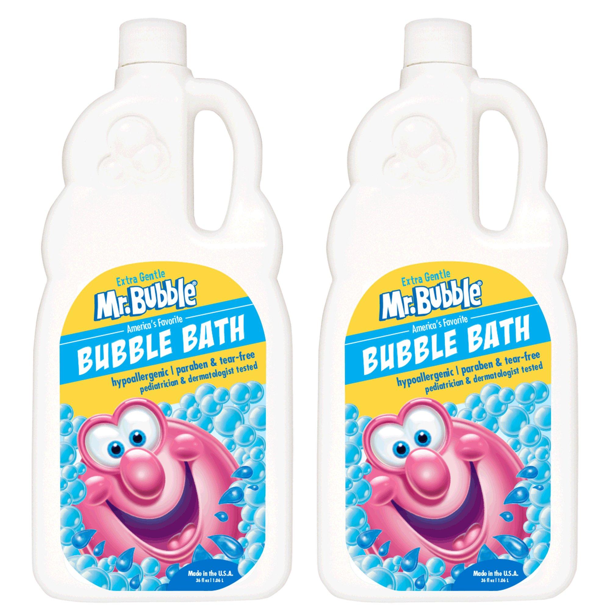 Mr. Bubble Bubble Bath, Extra Gentle, Fragrance-Free, 36 fl oz, Pack of 2 by Mr. Bubble