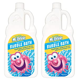 Mr. Bubble Bubble Bath, Extra Gentle, Fragrance-Free, 36 fl oz, Pack of 2