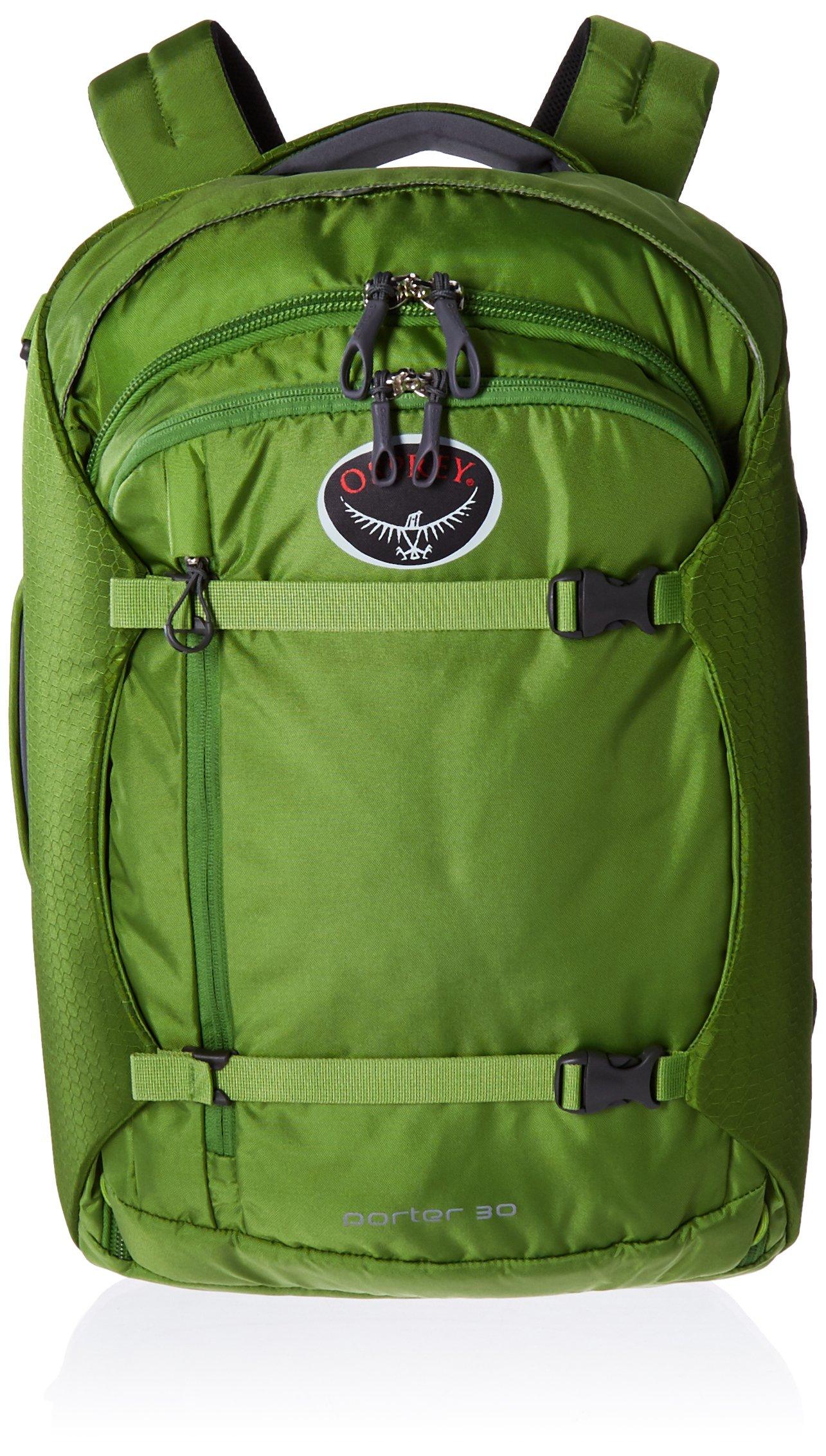 Osprey Porter Travel Duffel Bag, Nitro Green, 30-Liter