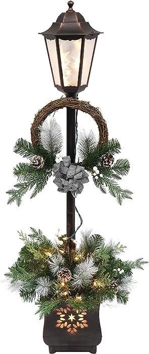 Top 10 Holiday Lamp Post Christmas Home Decor