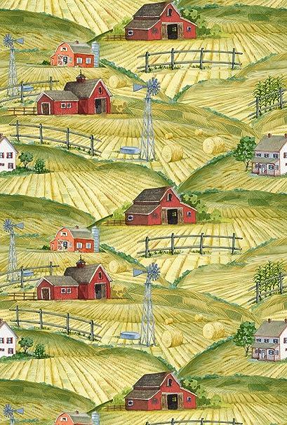 Amazon.com: Toland Home Garden Heartland Collage 28 x 40 ...