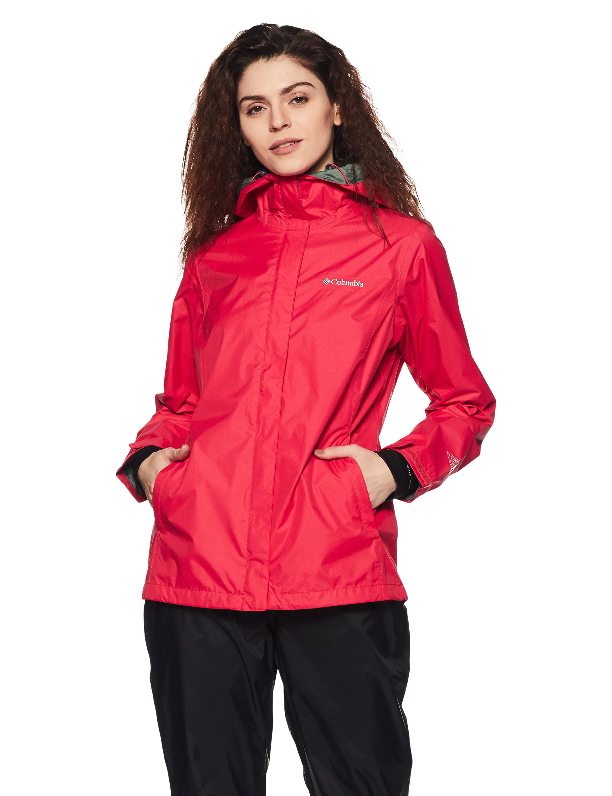 Columbia Women's Arcadia II Jacket, Red Camellia, XS