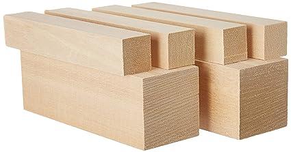 Amazon.com: basswood large carving blocks kit best wood carving