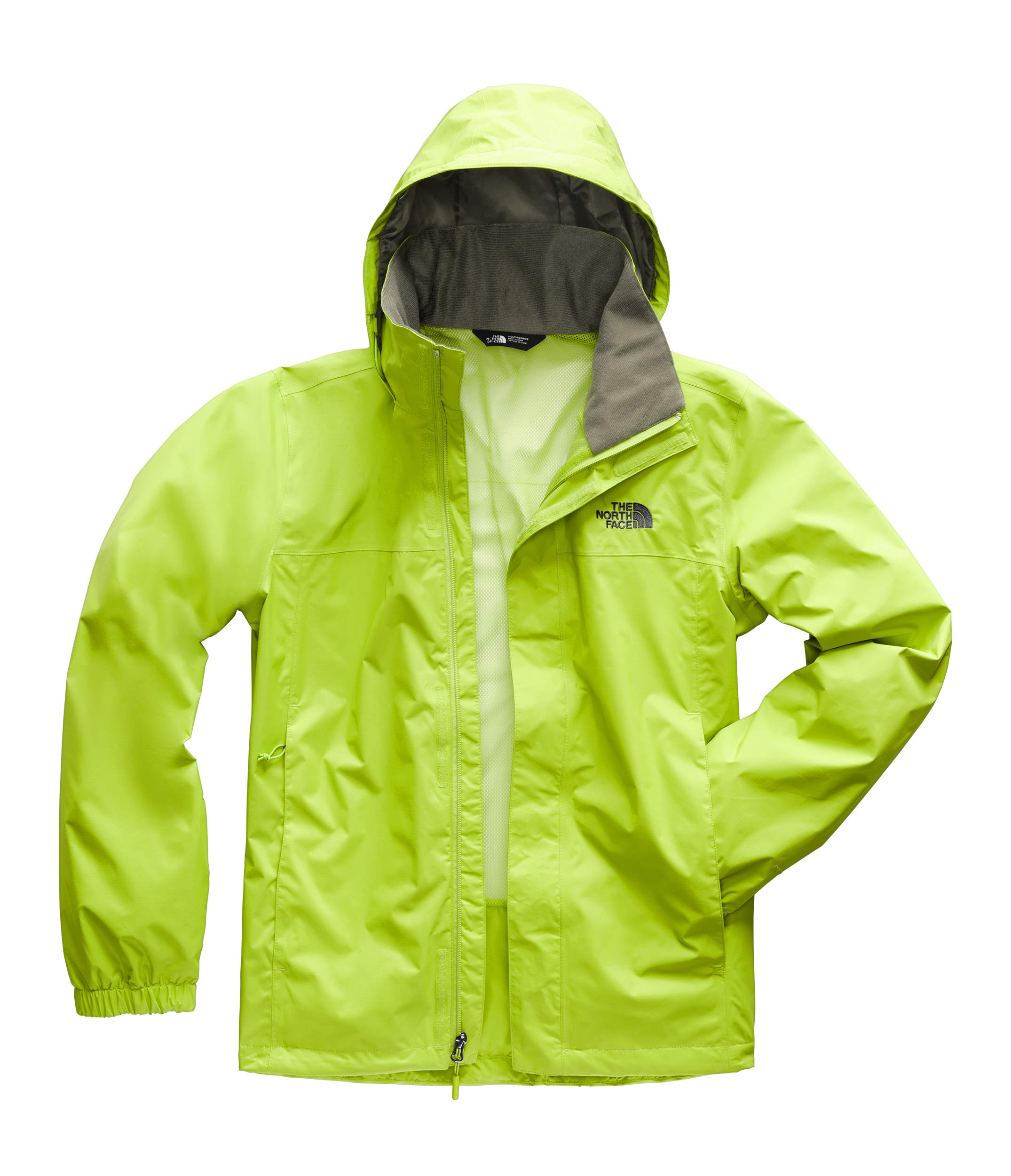 The North Face Men's Resolve 2 Jacket Lime Green/New Taupe Green Small