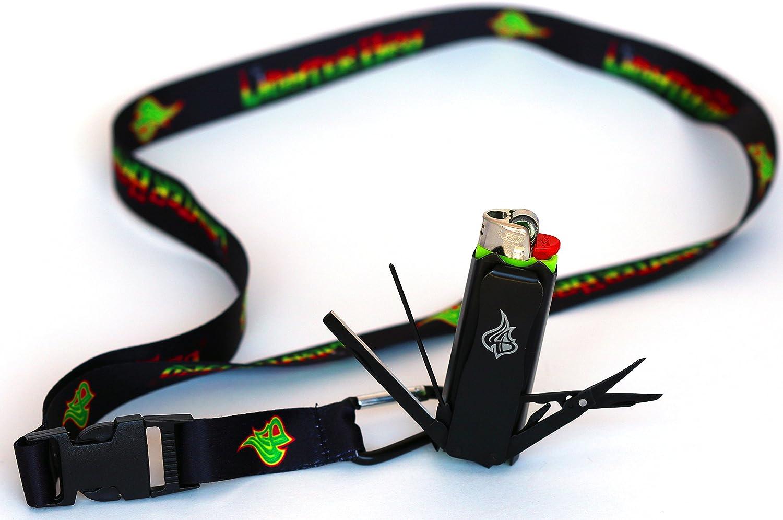 LighterBro – Lighter Sleeve – Multi-Tool – Stainless Steel – Stealth