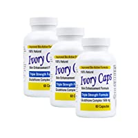 (3 Pack) Ivory Caps **Best Value**- Maximum Potency Glutathione 1500