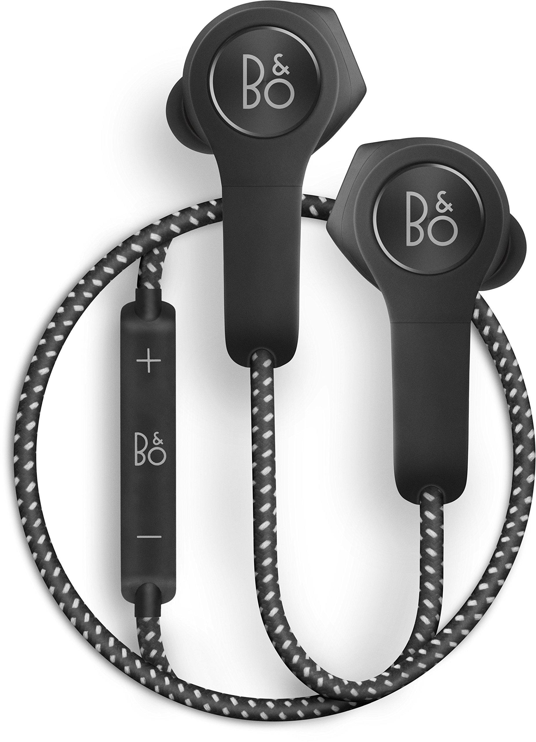 B&O PLAY by Bang & Olufsen Beoplay H5 Wireless Bluetooth Earphone Headphone (Black)