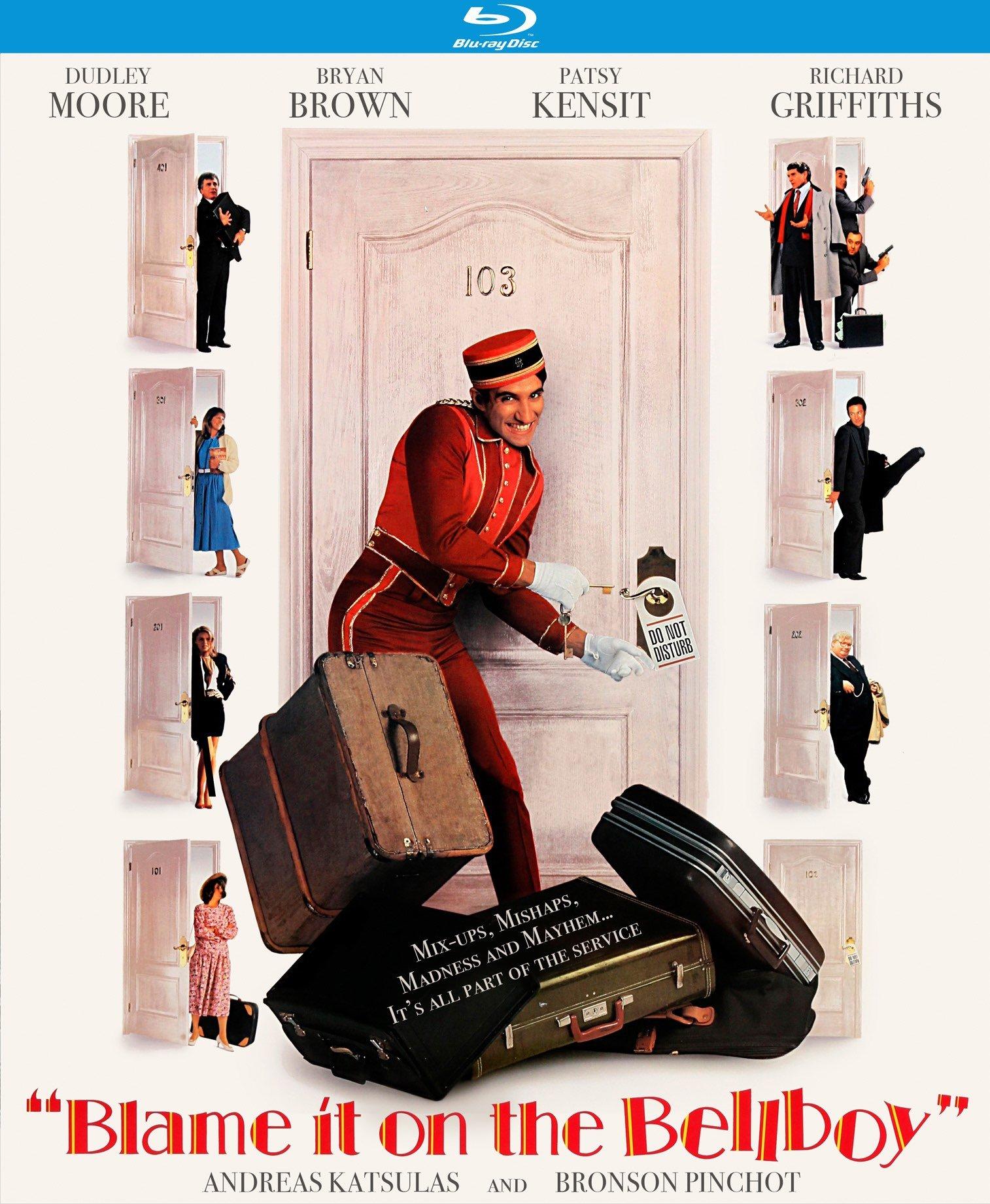 Blu-ray : Blame It On The Bellboy (Blu-ray)