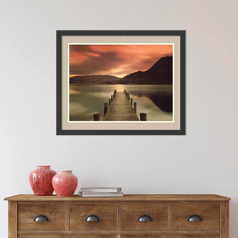 Amazon Com Framed Wall Art Print Ullswater Glenridding Cumbria By Mel Allen 31 88 X 24 38 In Home Kitchen