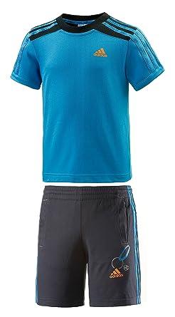 Conjunto ADIDAS LB V SET Azul Infantil - XL (7-8 años): Amazon.es ...