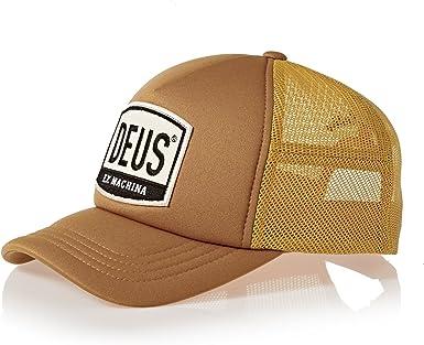 DEUS Moretown Trucker cap - Gold: Amazon.es: Ropa y accesorios