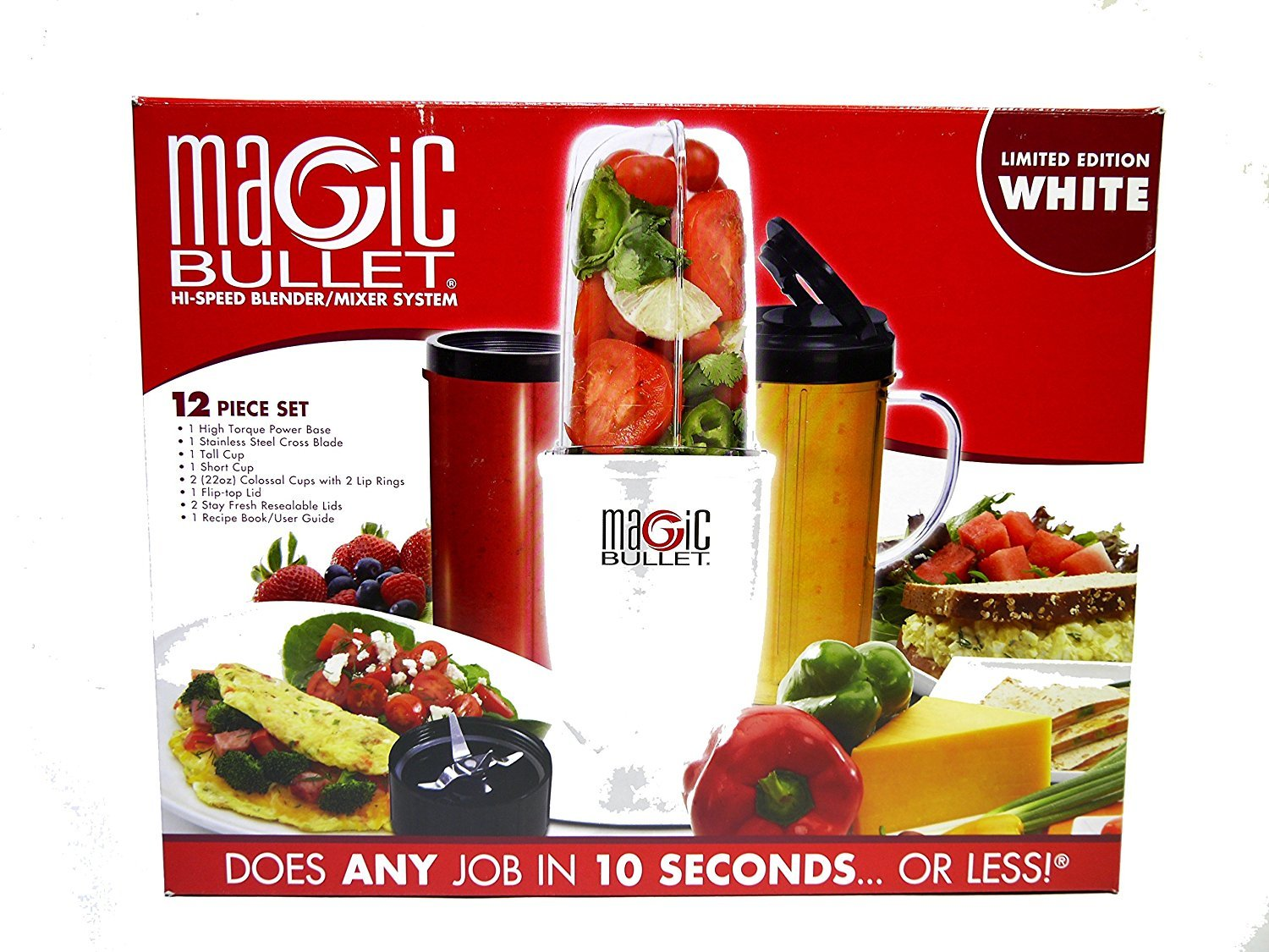 Amazon.com: Magic Bullet Nutribullet Pro 900 Blender/Mixer (15 Piece Set): Electric Personal Size Blenders: Kitchen & Dining