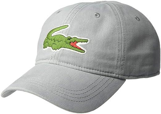 3eb12fdbba9 Lacoste Mens Big Croc  Gabardine Cap