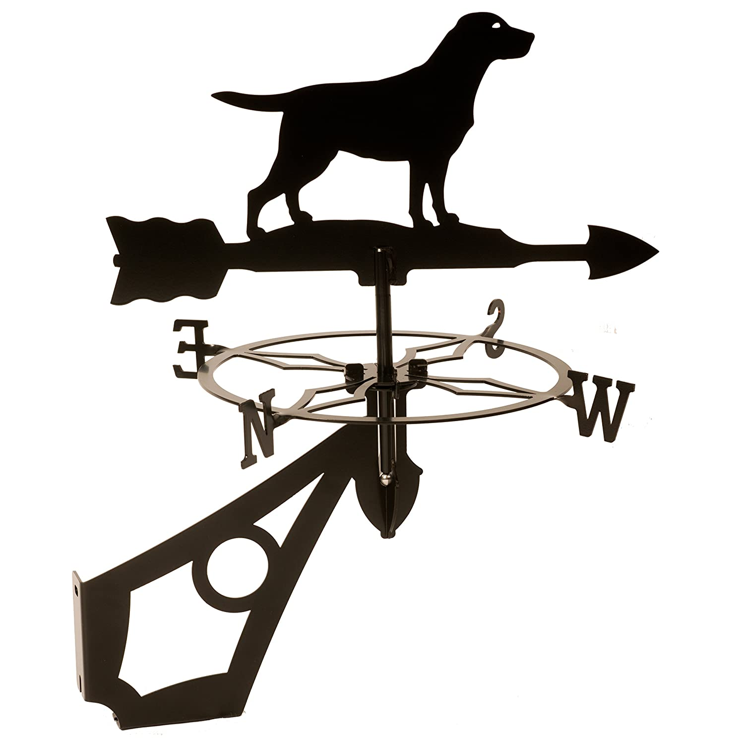Dragon Laser Ltd. W148BLK Labrador, Dog Weathervane