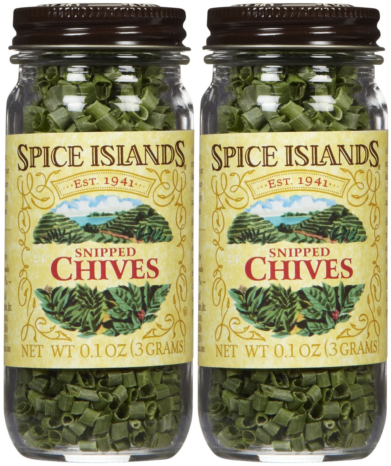 Spice Island Snipped Freeze Dried Chives - 0.1 oz - 2 pk
