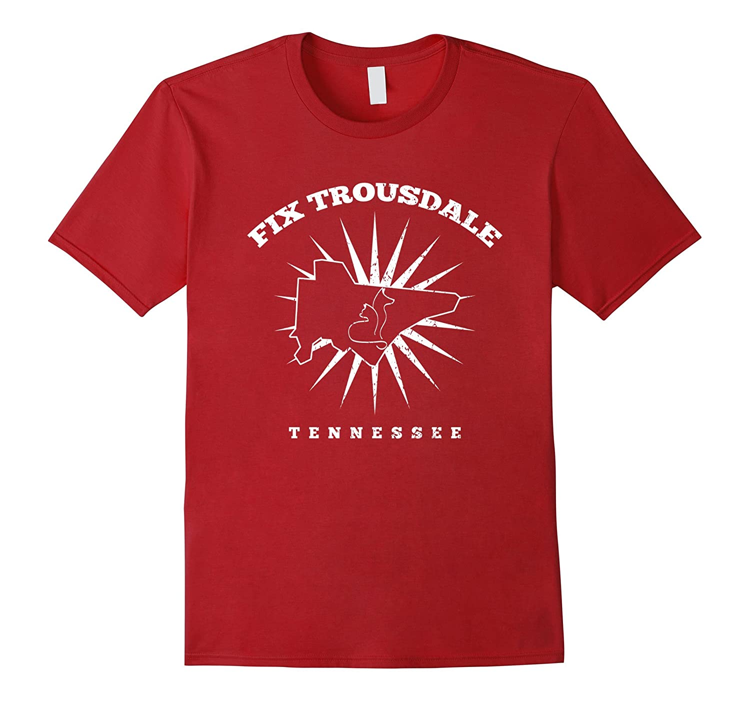 Fix Trousdale Tennessee T-Shirt Save Life Spay And Neuter-Art