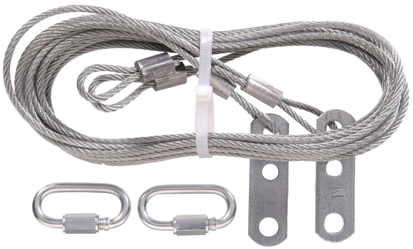 The Hillman Group 852129 1/8-Inch x 8-Feet 8-Inch Safety Cable