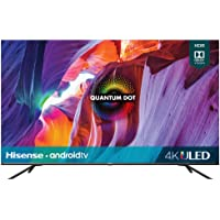 Hisense 50-Inch Class H8 Quantum Series Android 4K ULED Smart TV with Voice Remote (50H8G,…