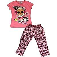 E-Fashion Conjunto de Pijama de LOL (L.O.L. Surprise), Suave y cómoda para Dormir, Moda para niñas