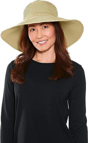 Women/'s Etta Shapeable Sun Catcher Hat Coolibar UPF 50