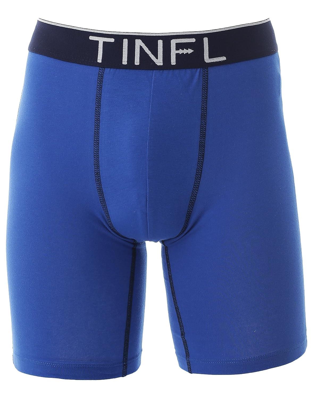 TINFL Big Boys Long Leg Boxer Briefs 3-Pack Underwear Set HD-001 S