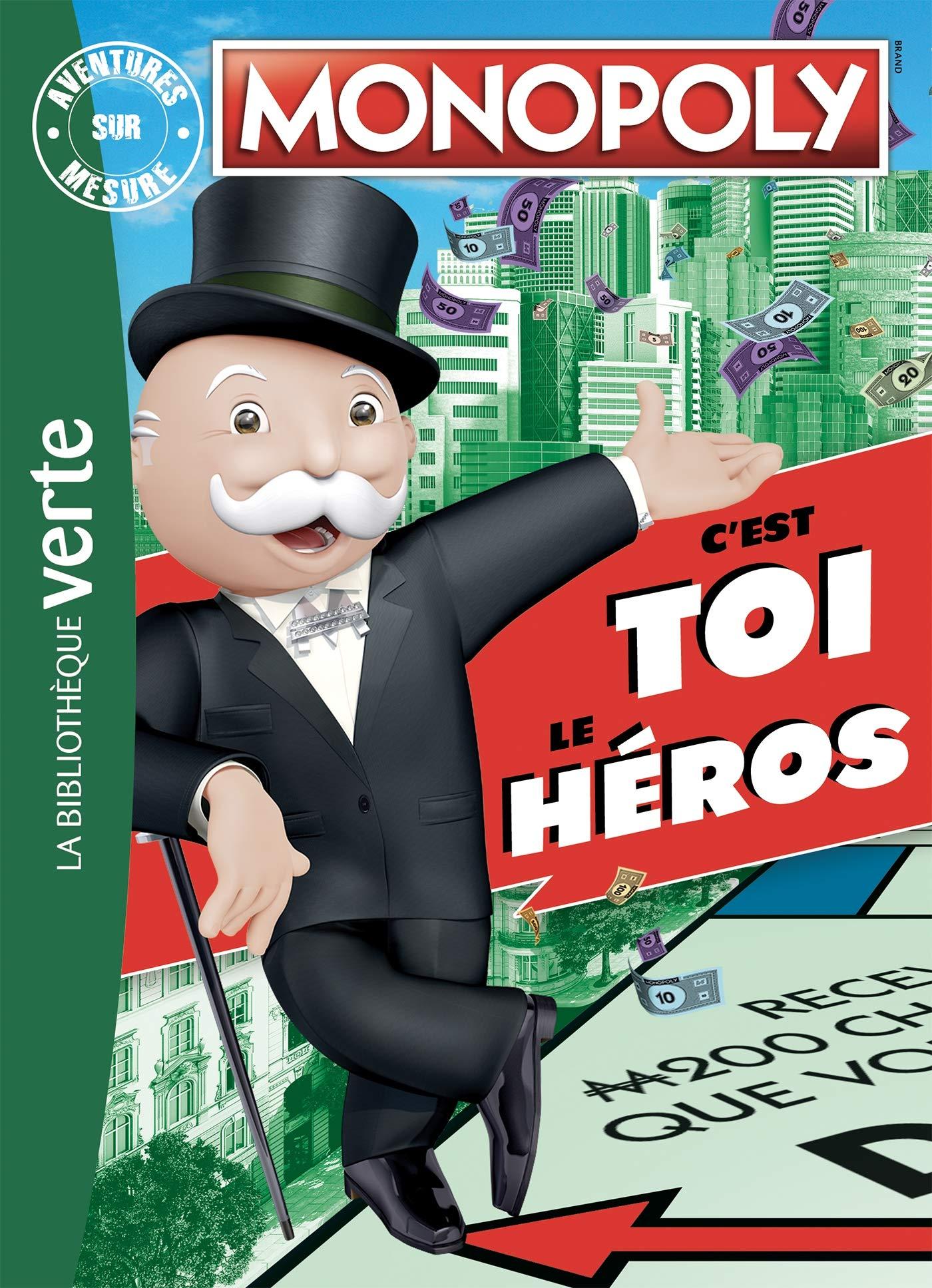 Monopoly - Aventures sur mesure XXL: 0 Bibliothèque Verte Plus: Amazon.es: Hasbro: Libros en idiomas extranjeros