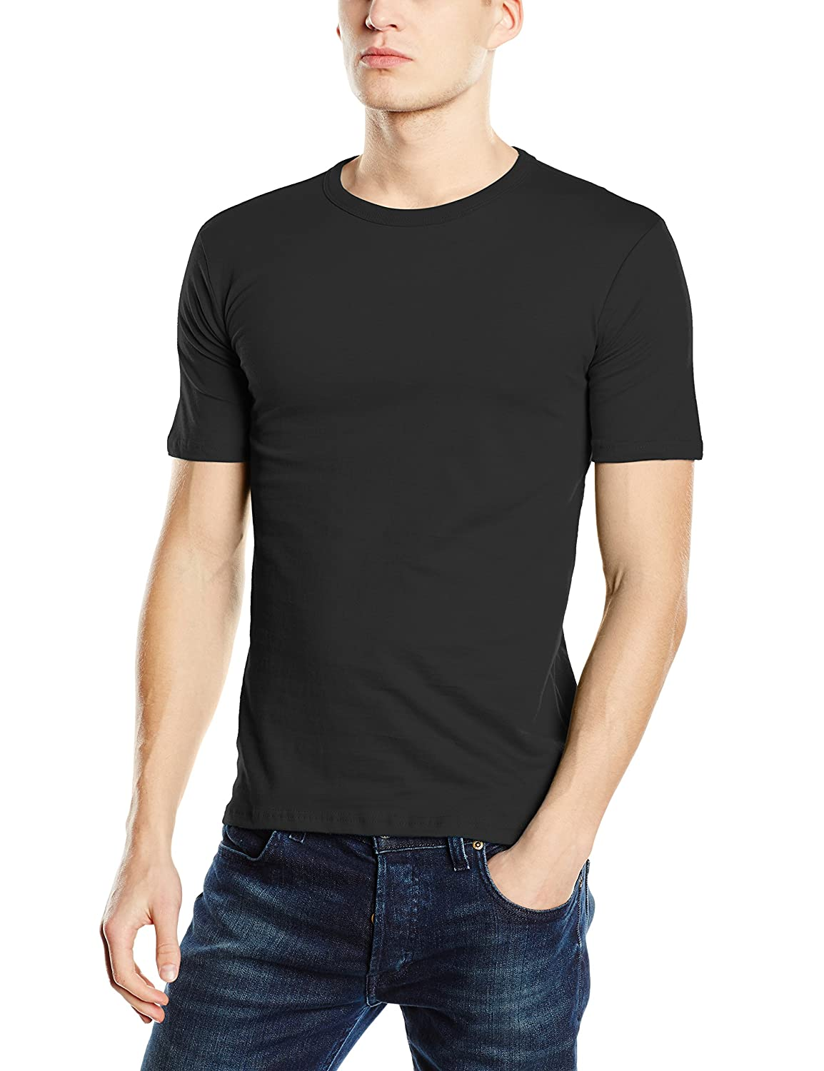 Mens Clive V-Neck/ST9610 Premium Slim Fit Classic Short Sleeve T-Shirt Stedman Apparel With Credit Card Free Shipping Sale Fast Delivery Fashionable Cheap Online Store Cheap Online Pictures For Sale VrPsAhHmY