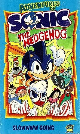 Amazon Com Adventures Of Sonic The Hedgehog Slowwww Going Sonic The Hedgehog Movies Tv