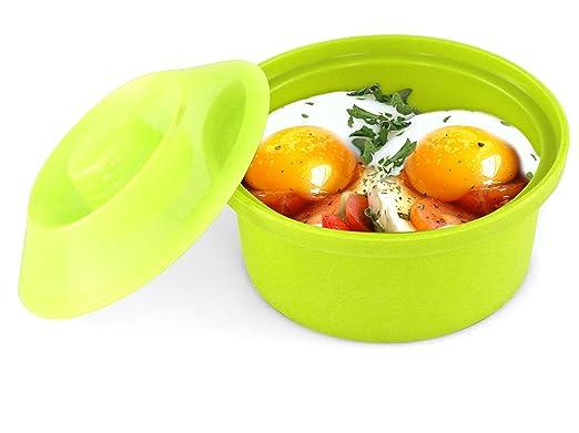 Sivita Silicocotte. Escalfador de huevos para microondas y horno ...