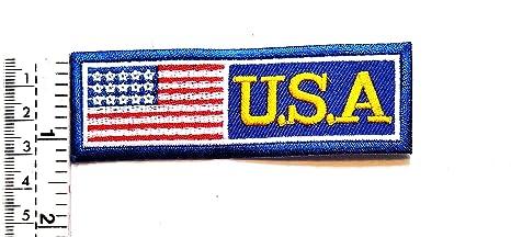 Parche bordado con el símbolo de la bandera de Estados Unidos ...