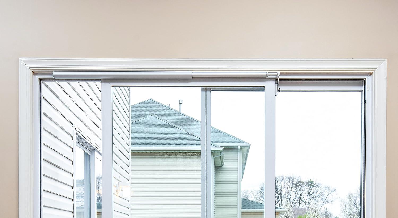 Slideback Heavy Duty Plus Self Closing Sliding Patio Door Closer for 8 ft Doors