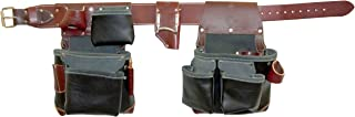 product image for Occidental Leather B5625 XXL Green Building Framer Tool Belt Set, Black, XX-Large