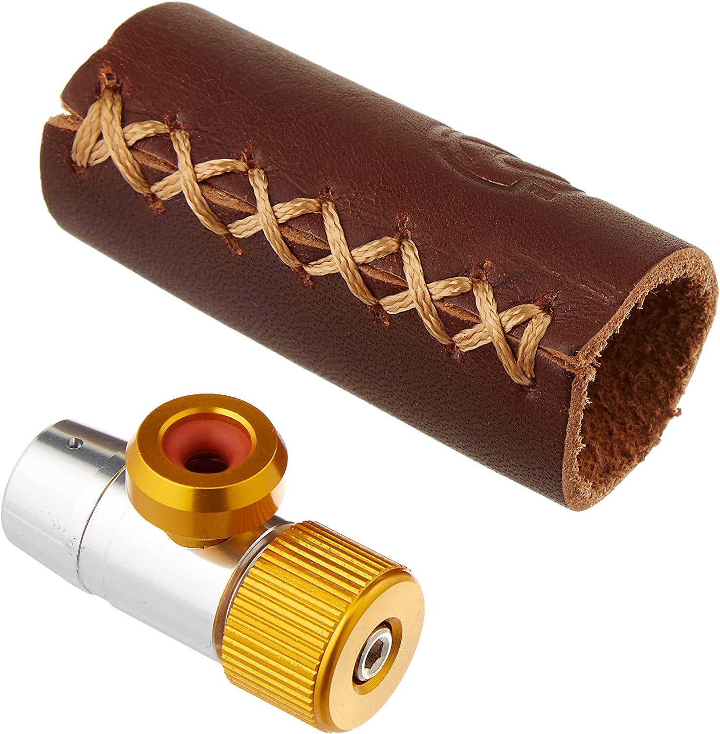 Portland Design Works Tiny Object CO2 Inflator with Leather Sleeve