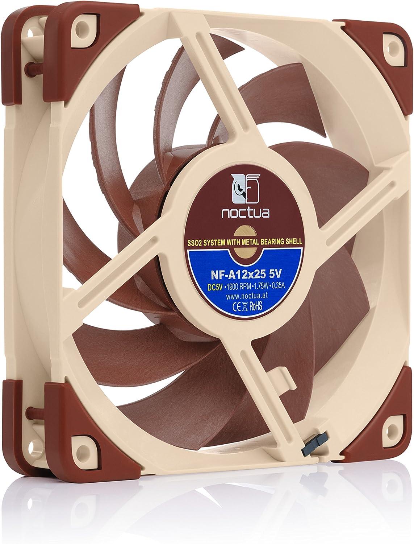 Noctua Nf A12x25 5v Leiser Premium Lüfter Mit Usb Computer Zubehör