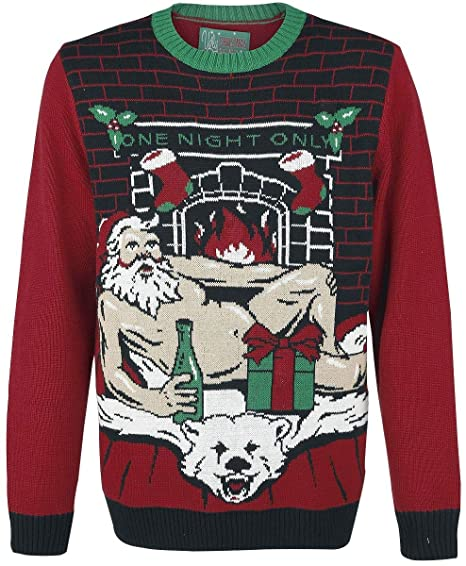Ugly Christmas Sweater Womens Sexy Santa Light Up Sweater Amazon