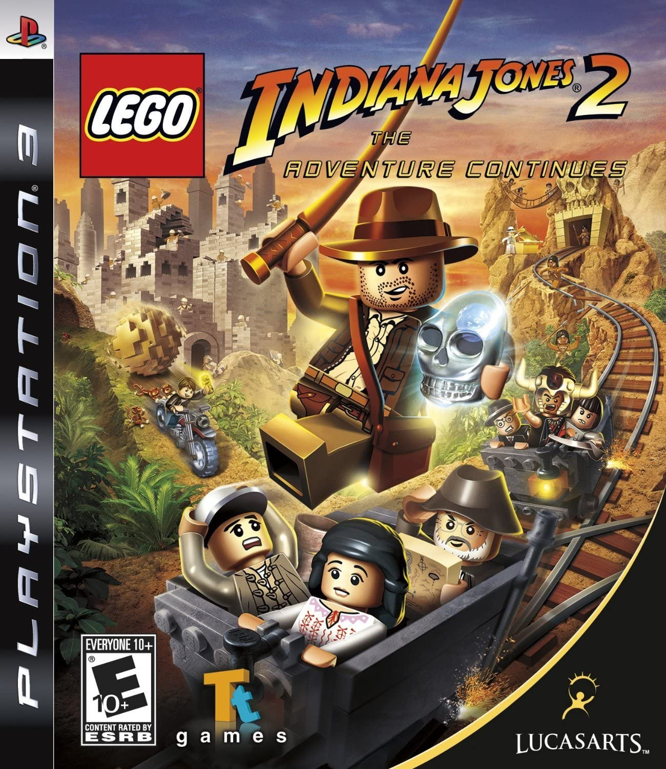 amazon com lego indiana jones 2 the adventure continues