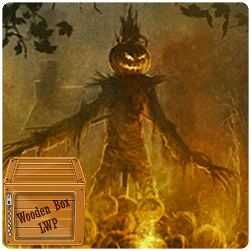 Halloween Camp Fire Live Wallpaper