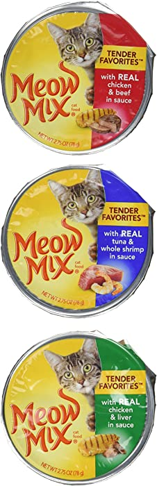 Top 7 Cat Food Meow Mix Pate Toppers
