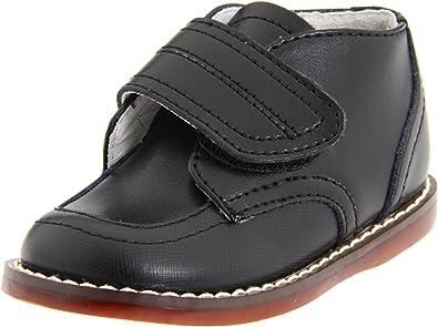 9ce3a8628163 FootMates Baby Boy s Alex 2 (Infant Toddler) Black Oxford 6 Toddler W