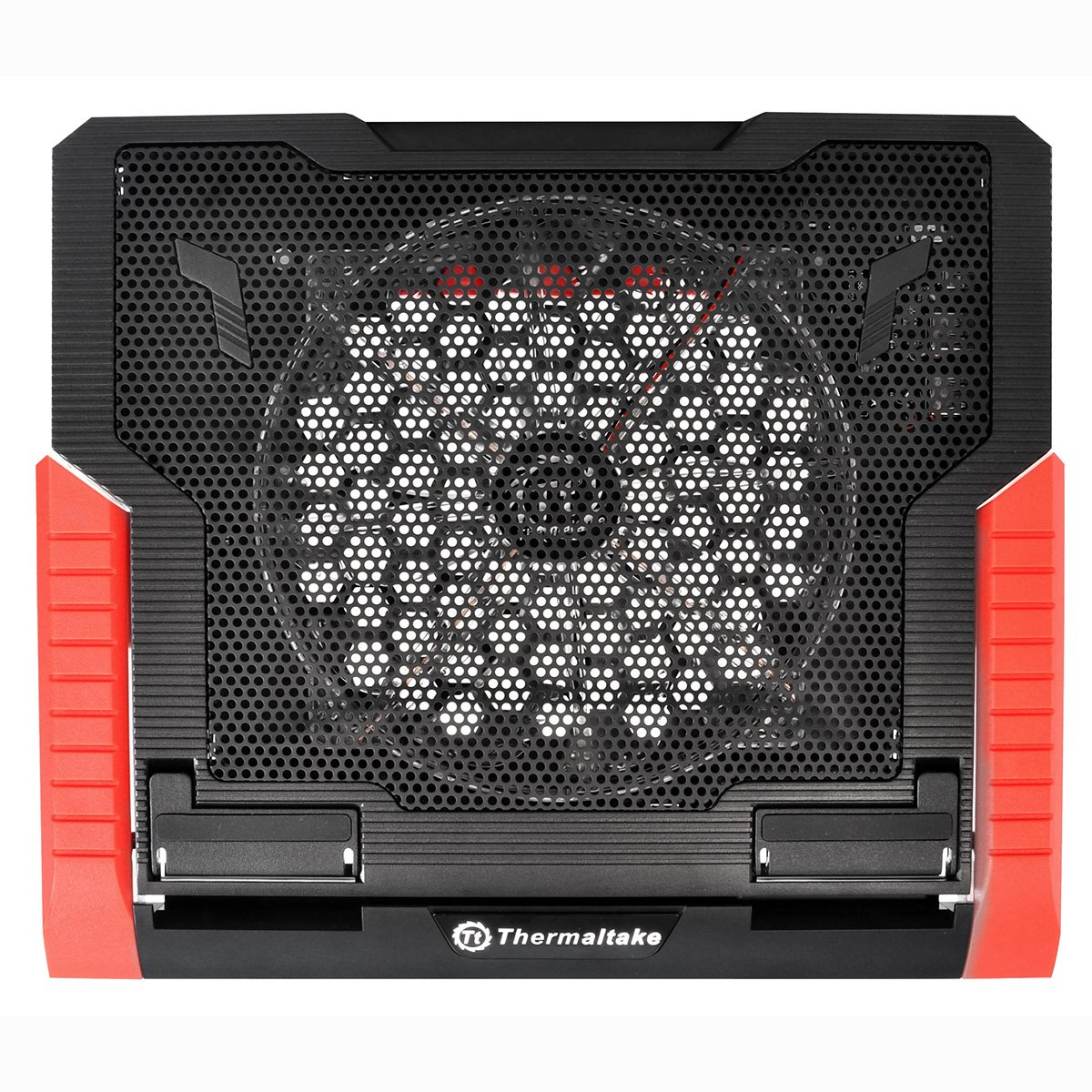 Thermaltake Massive 23 GT Steel Mesh Panel Single 200mm Red LED Fan Adjustable Speed Control 10''-17'' Laptop Notebook Cooling Pad CLN0019 by Thermaltake (Image #6)
