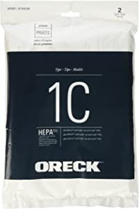 Oreck HEPA Replacement Bag for Venture and Venture Pro Canisters, SK30075PC and SK30090PC