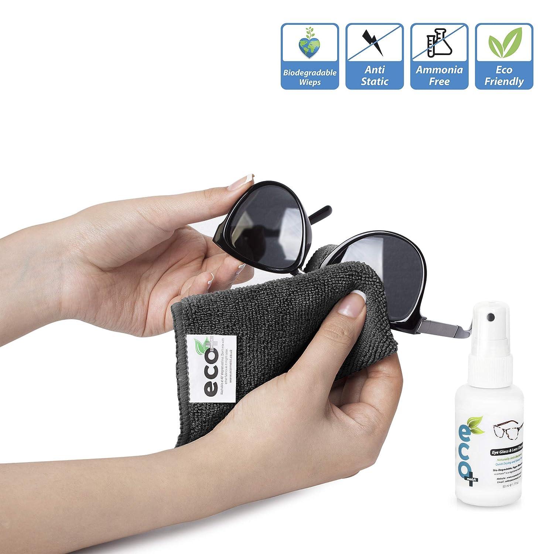 Líquido Limpiador óptico de Gafas y Lentes con toalla de Microfibra Fina 50ml