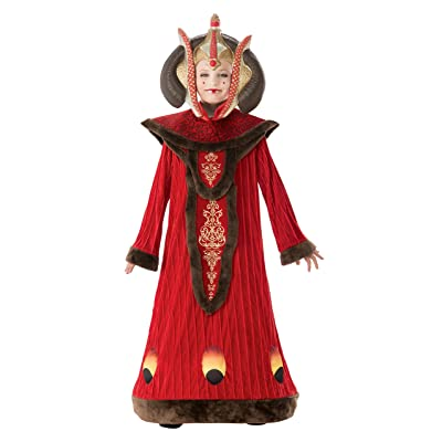 Star Wars Deluxe Queen Amidala Child's Costume: Toys & Games