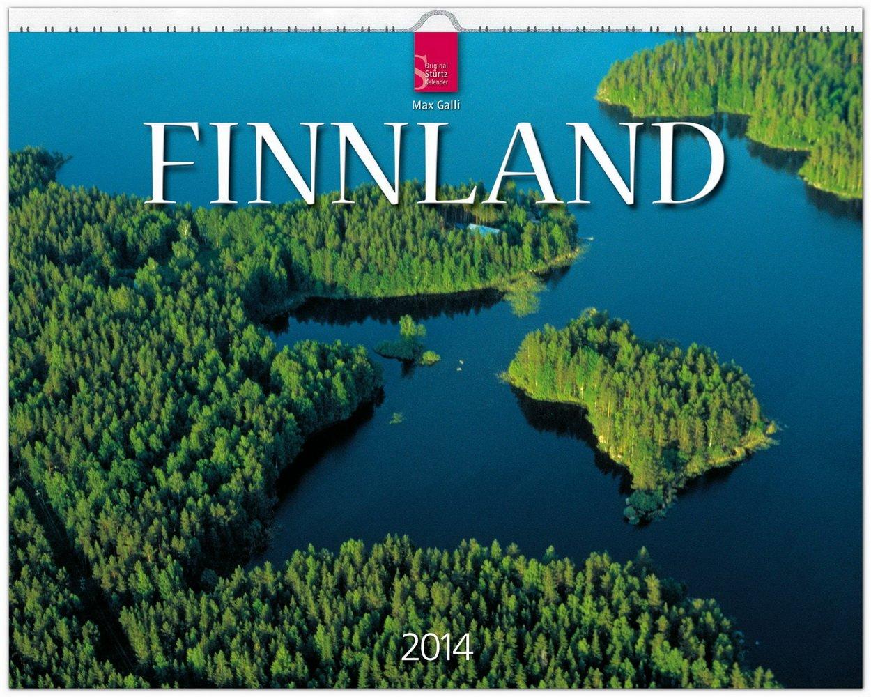 Finnland 2014: Original Stürtz-Kalender - Großformat-Kalender 60 x 48 cm [Spiralbindung]