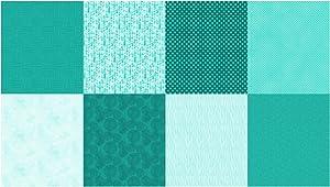 Hoffman Digital Details Blender 90in Panel Turquoise Fabric