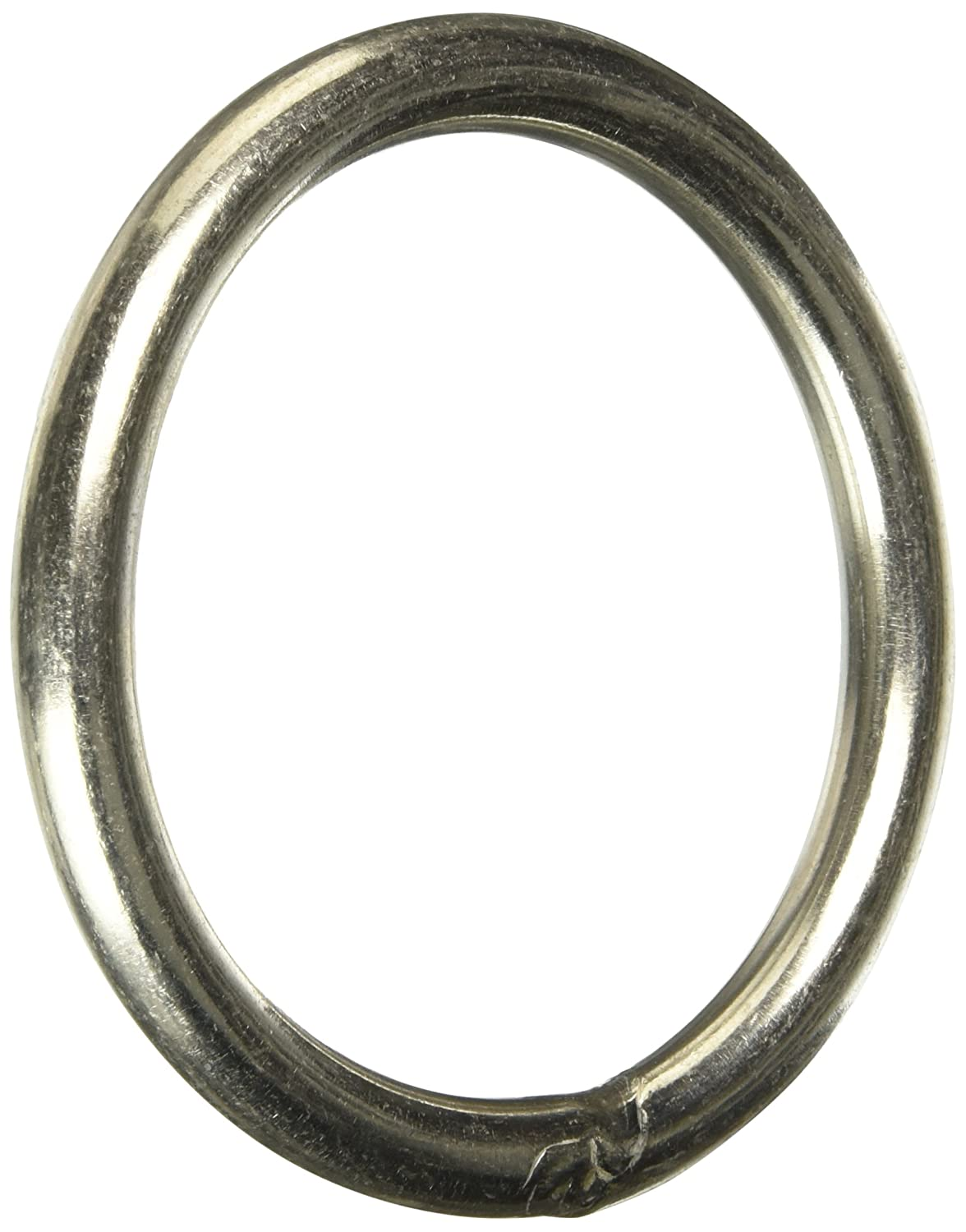 Uxcell a15060500ux0114 80mm x 8mm 304 Stainless Steel Webbing Strapping Welded O Rings